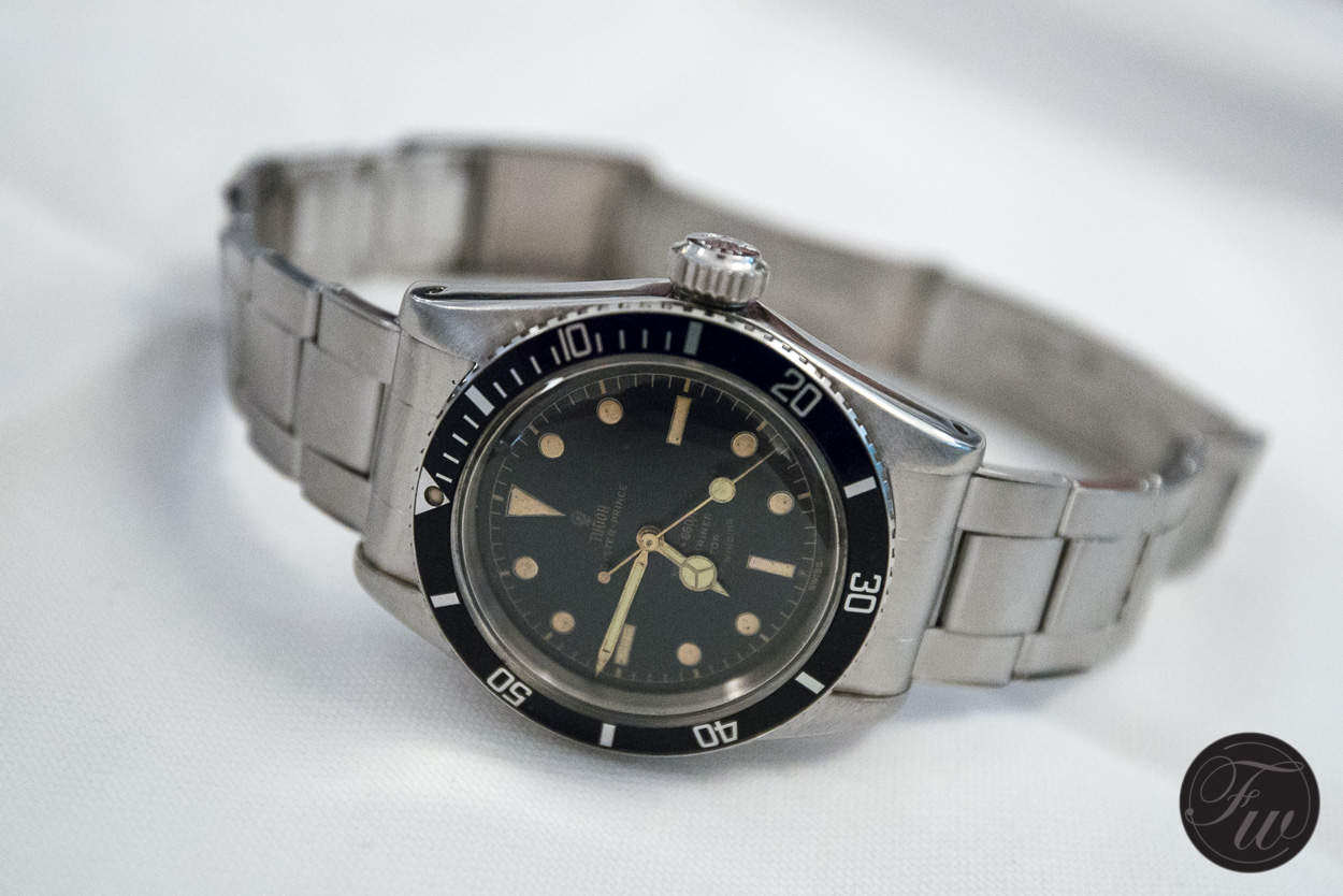 The rare and interesting Tudor Submariner 7924