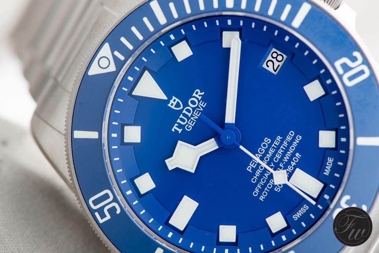 Tudor Pelagos 25600TB 4-line dial