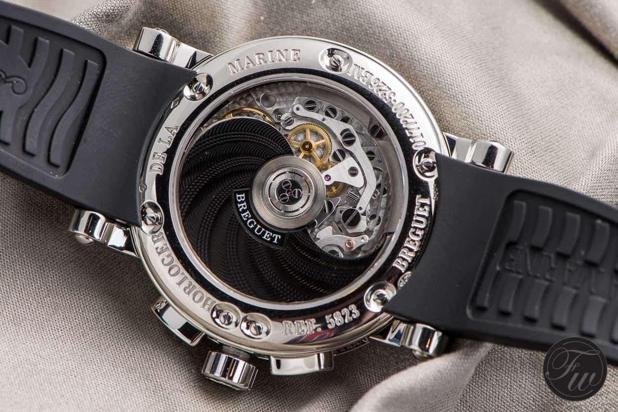 Breguet Marine Chroonographe Caliber 583Q/1