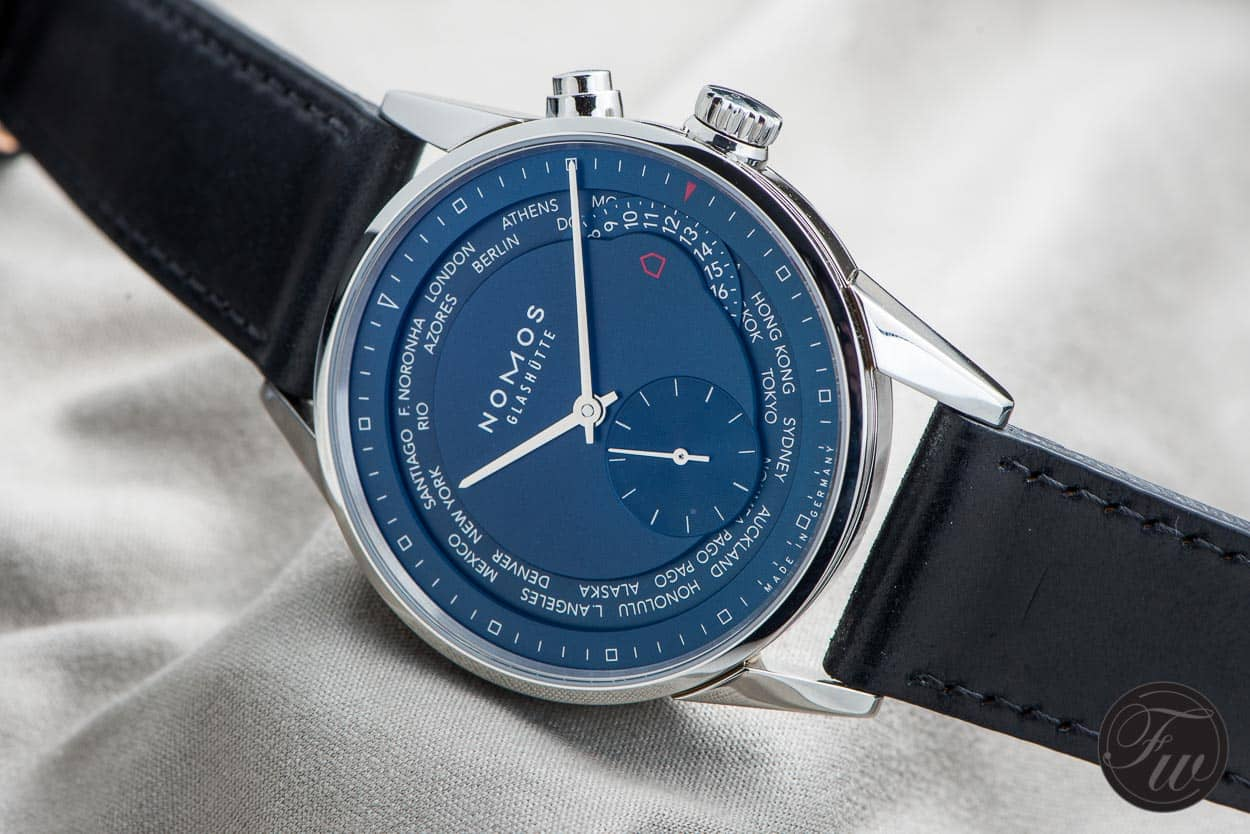 NOMOS Zürich World Timer True Blue - Top 5 BaselWorld Watches