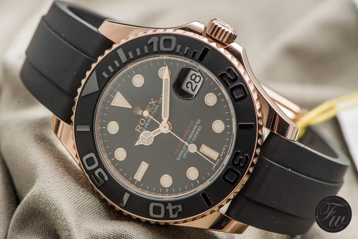 Rolex Yachtmaster Everose - Top 5 BaselWorld Watches