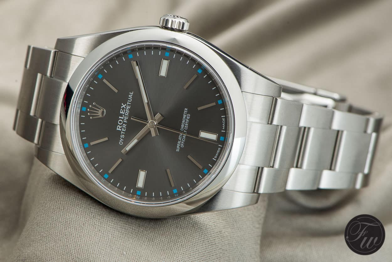the new rolex oyster perpetual in 39mm will it make the