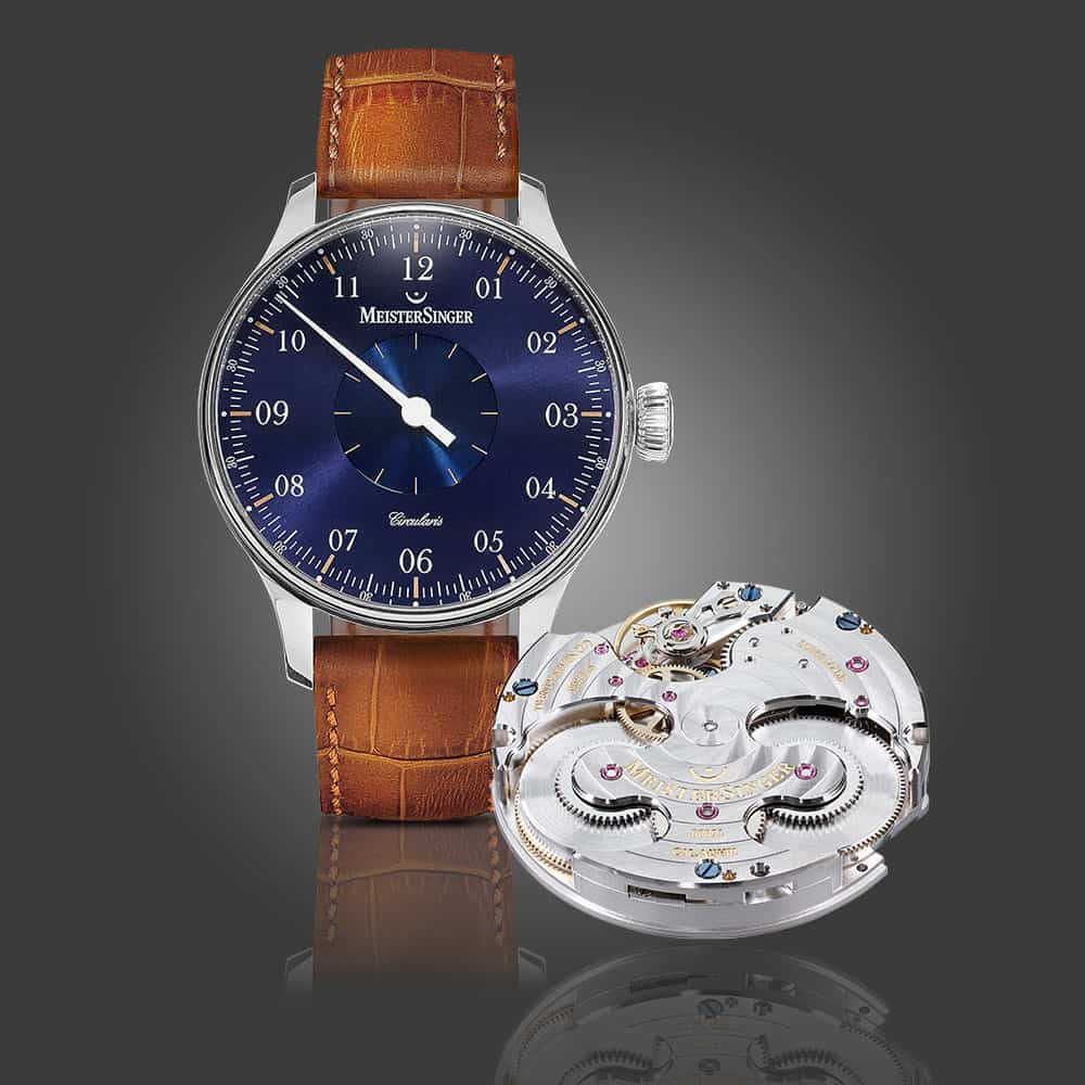 MeisterSinger Circularis with the new MSH01 movement