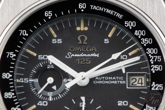 Speedmaster 125 dial