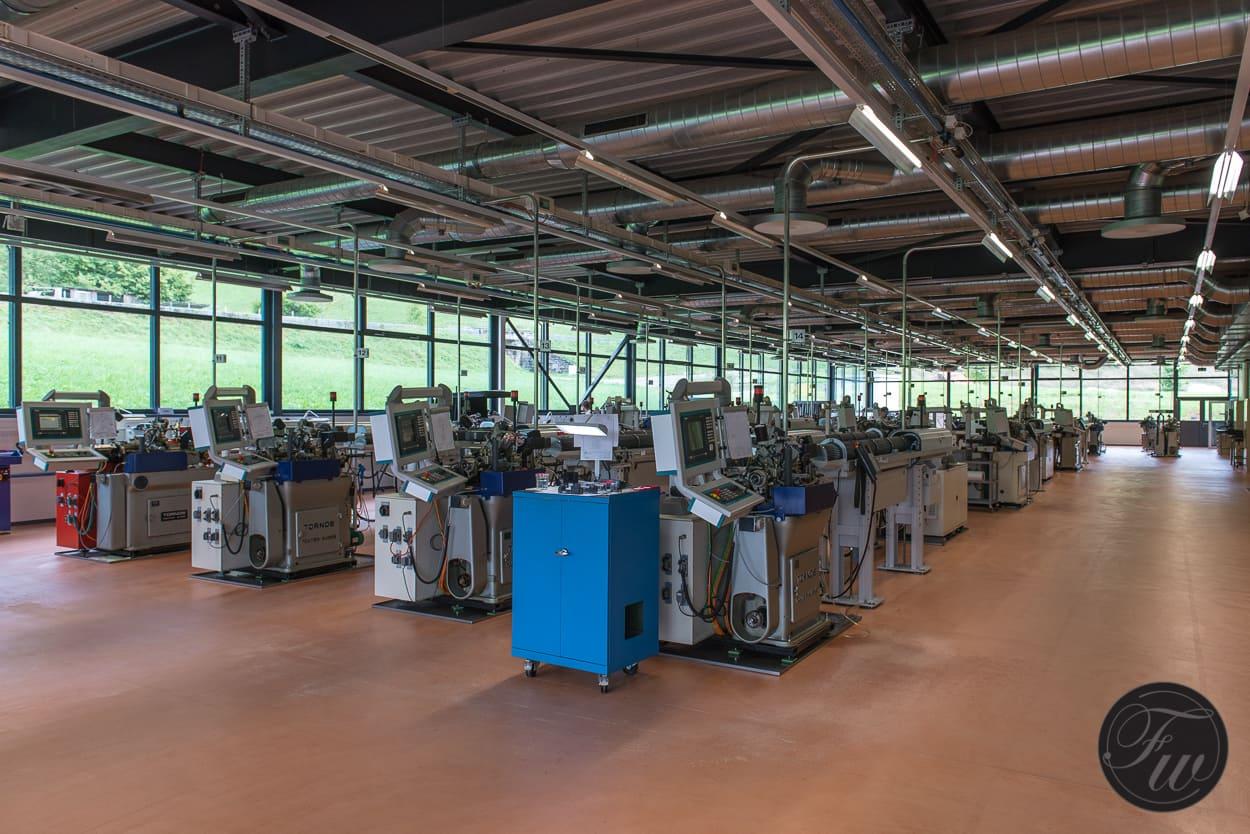 Elwin production floor