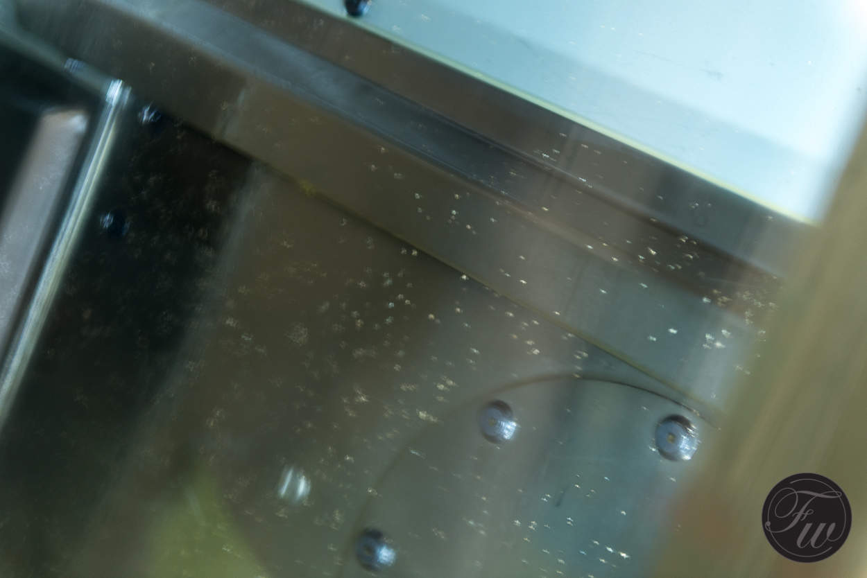 Precious metal residue