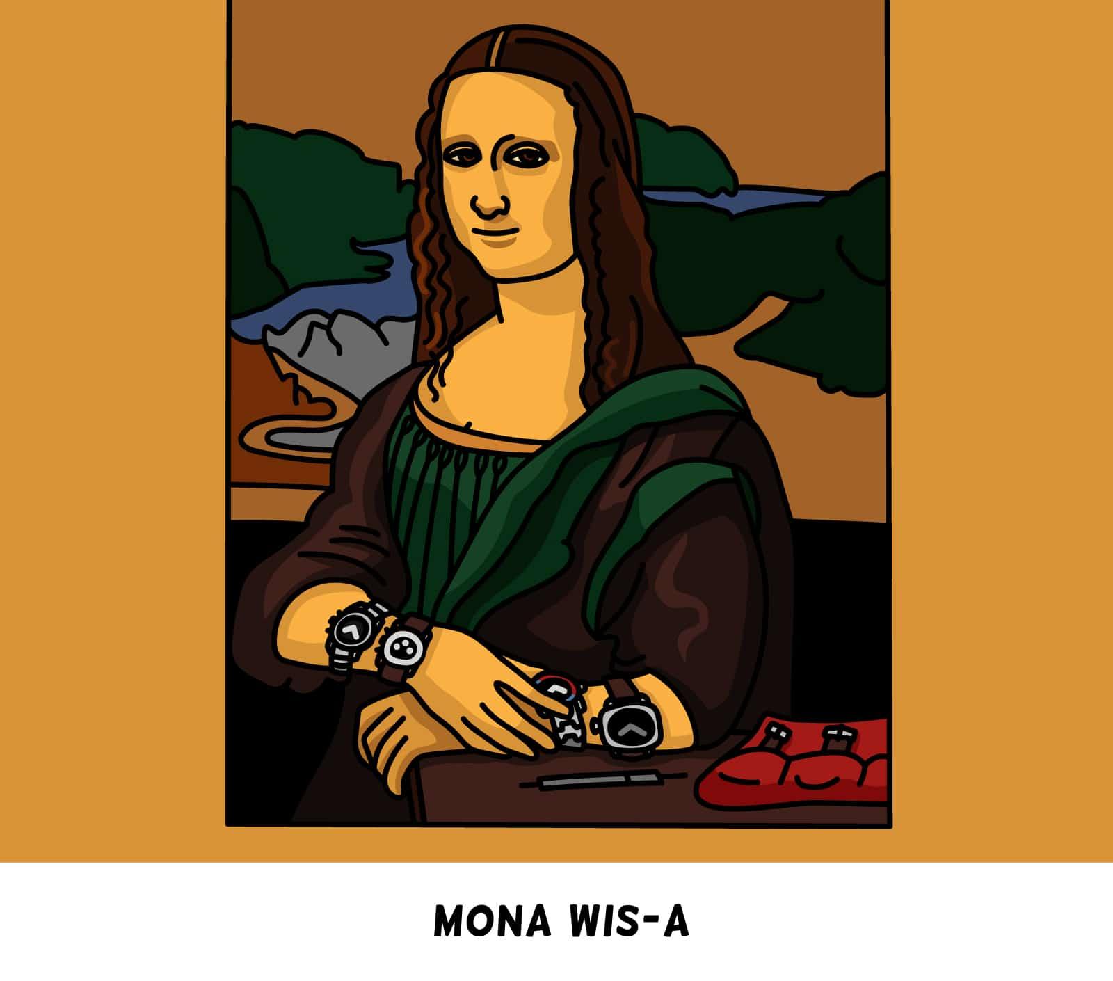 Mona WIS-a Watch Art