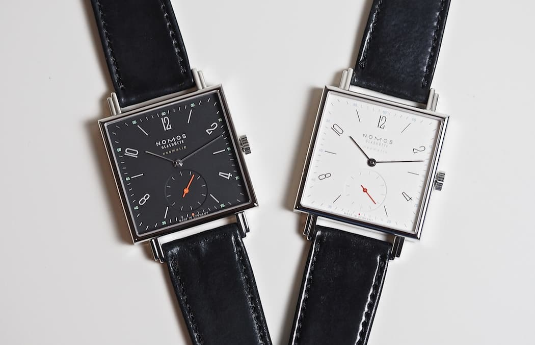 The new 33mm - squared Nomos Neomatik Tetra