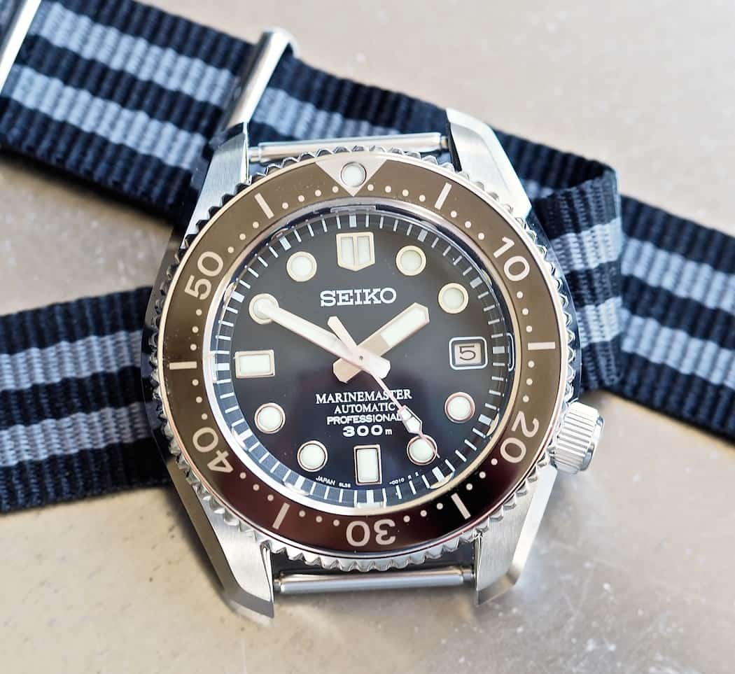 The Seiko MM300 did exclusive duty on a NATO - and looked great!
