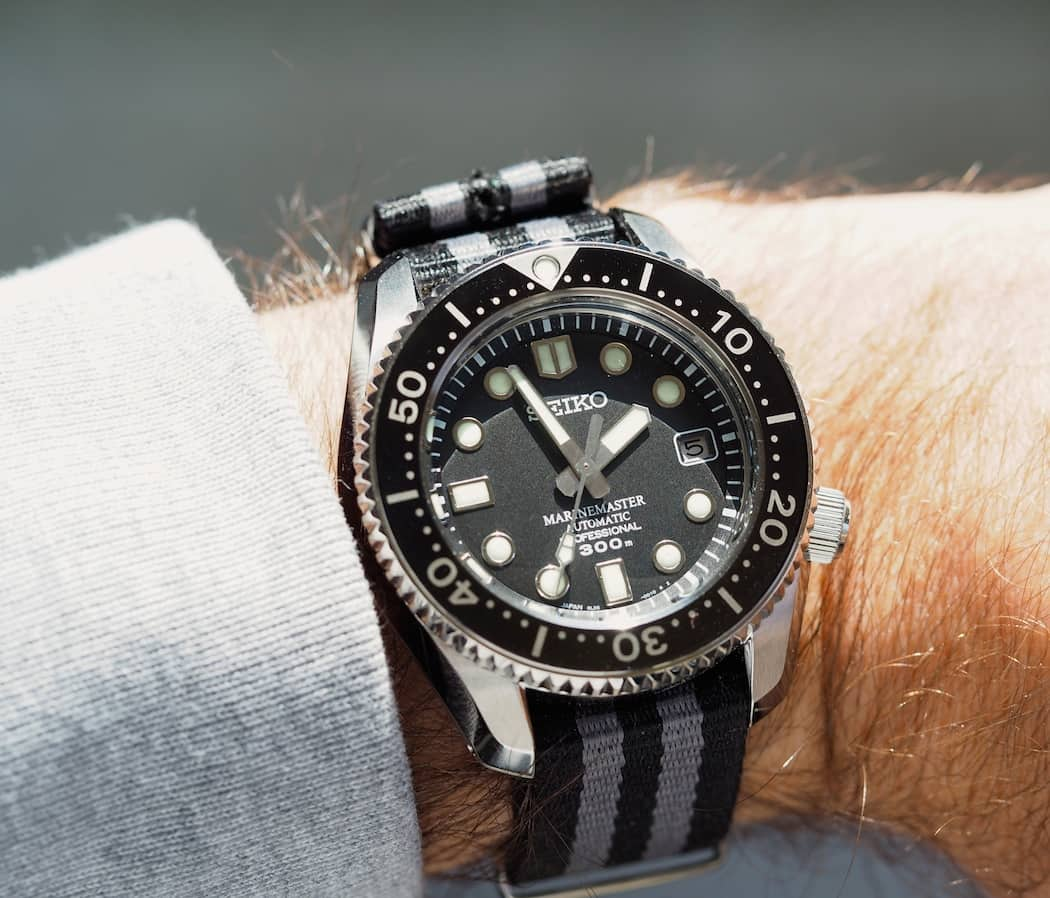 Depsite a large case size, the Seiko MM300 fit my smaller wrist very well.
