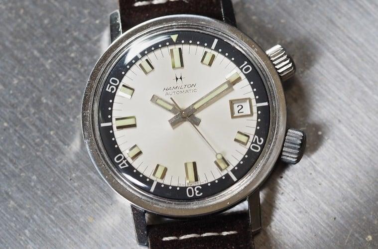 Tbt hamilton 600 diver for Hamilton dive watch