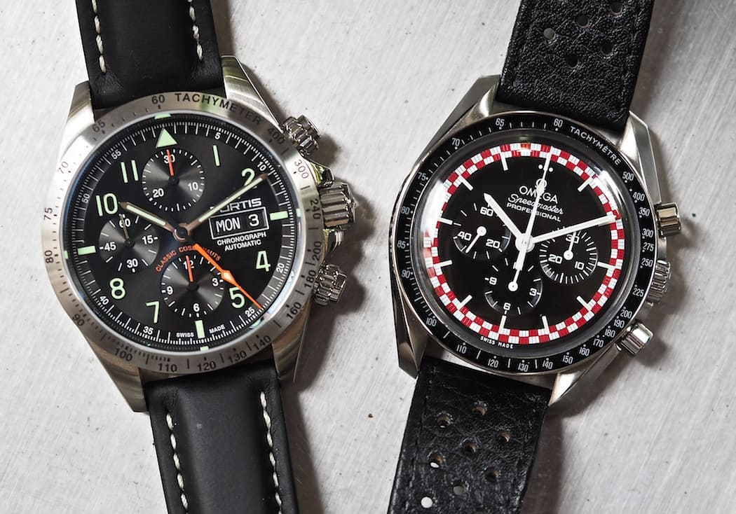 The Fortis Classic Cosmonauts and an Omega Speedmaster Professional