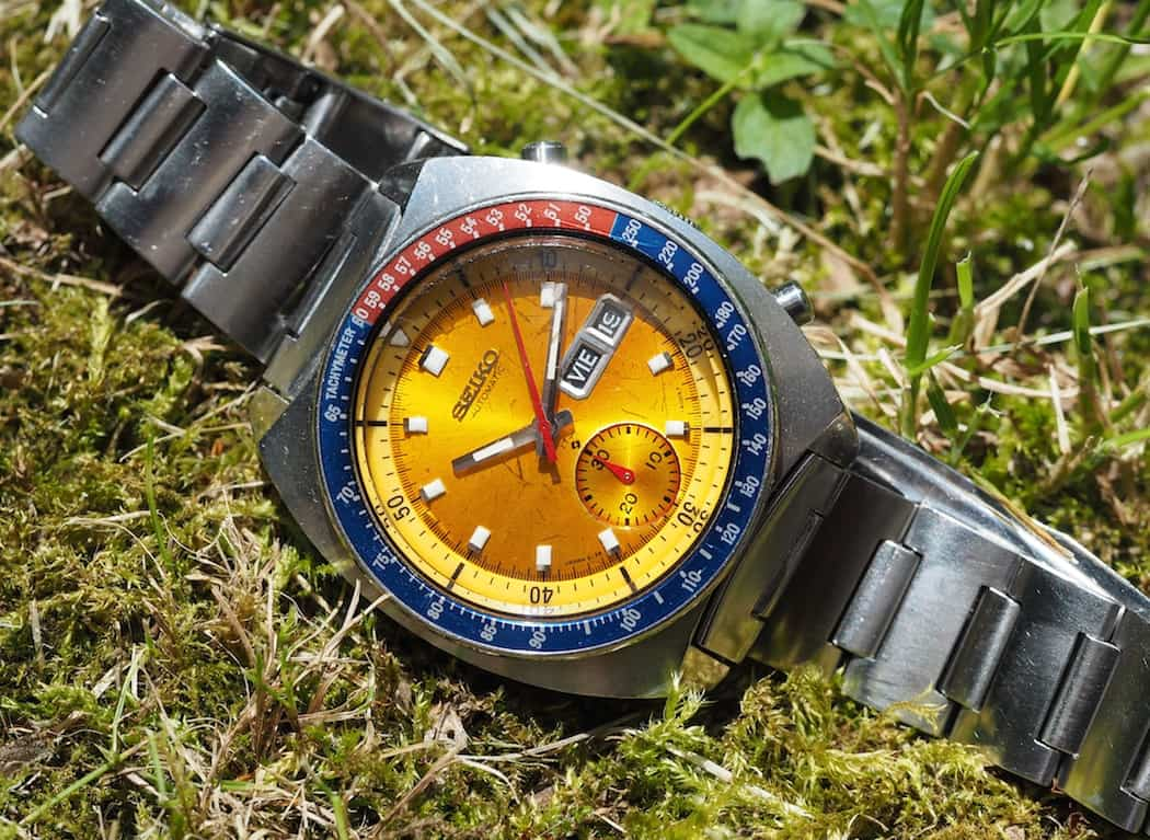 The Seiko 6139 Pogue in the sun