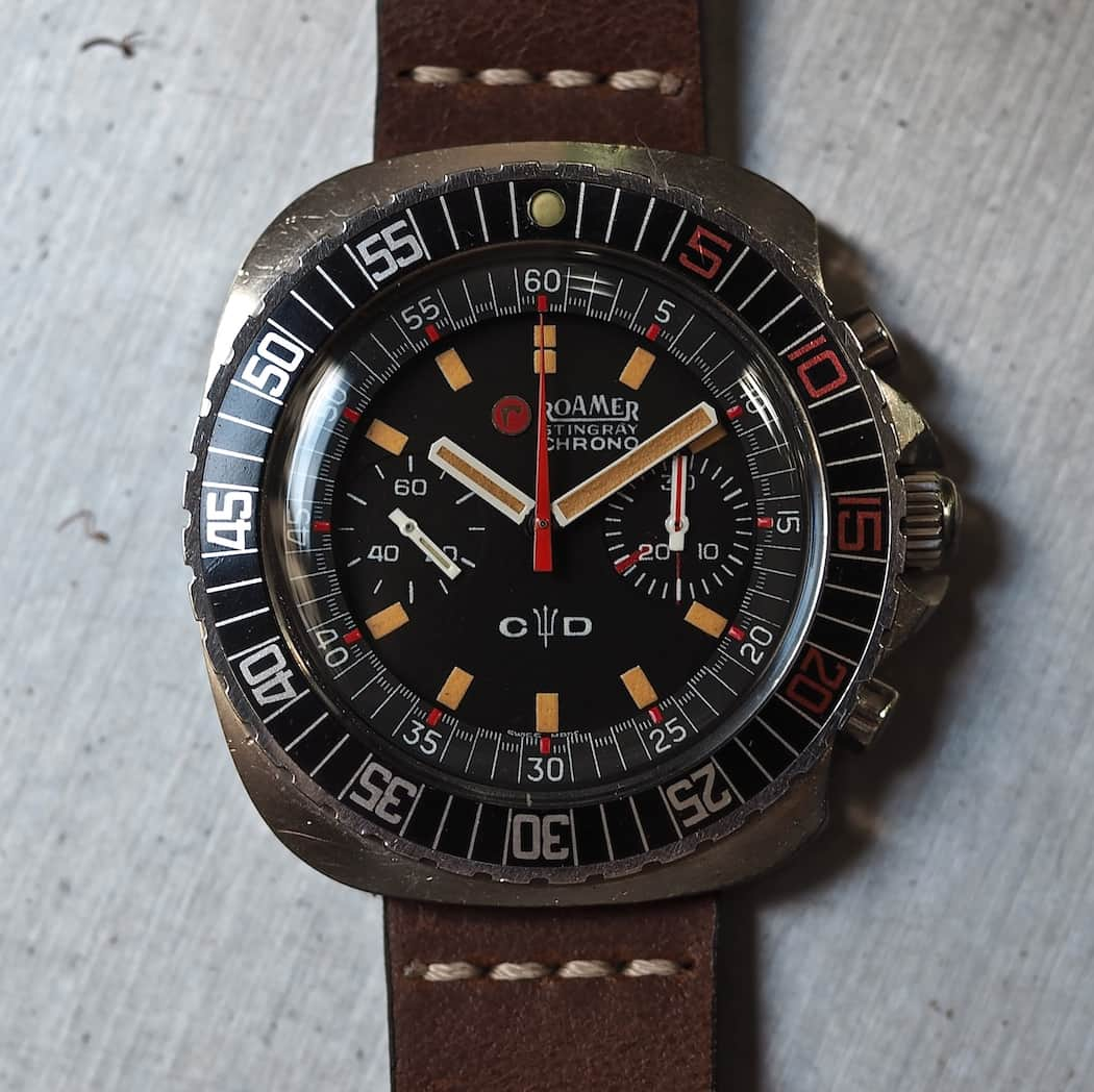 Roamer Stingray Chrono Diver cover...