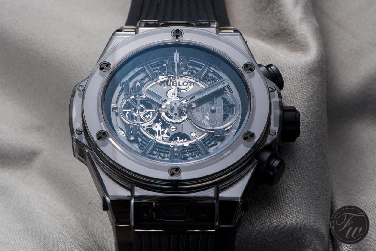 Hands On Hublot Big Bang Unico All Black Sapphire
