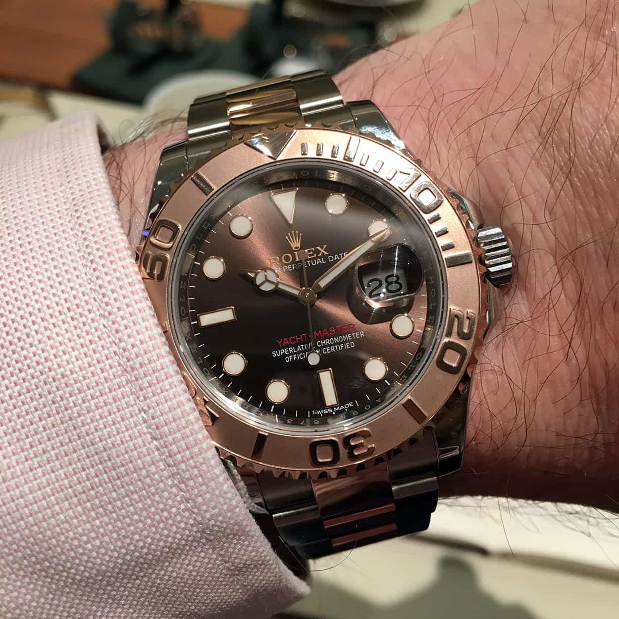 Hands-On With The Rolex Yacht-Master 116621