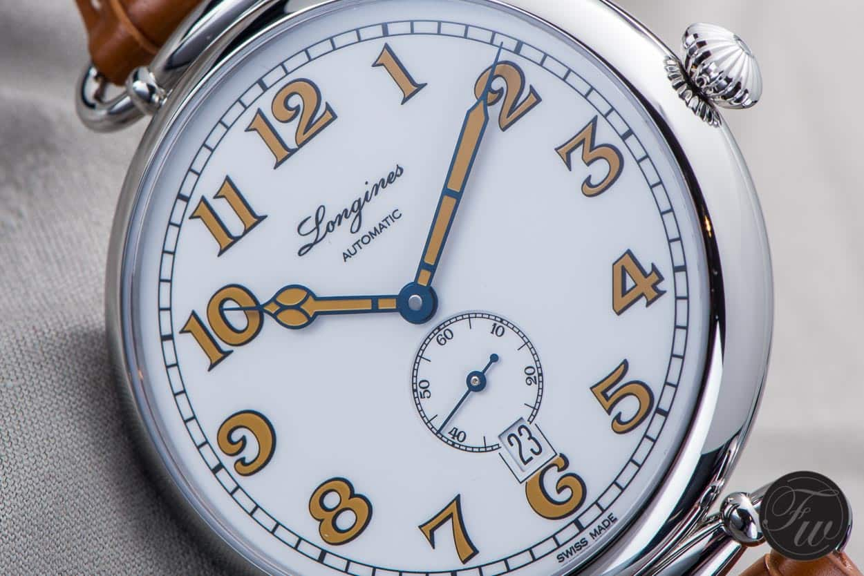 Position of the window at 6: design choice or restriction? (new Longines Heritage 1918)