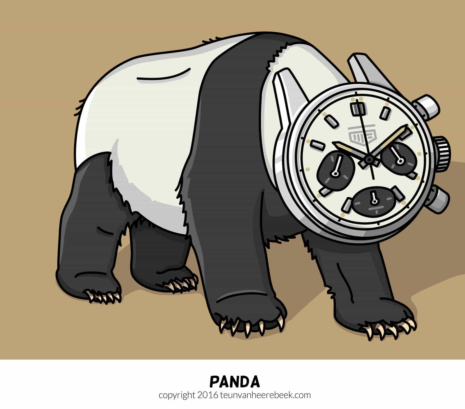 Panda dial