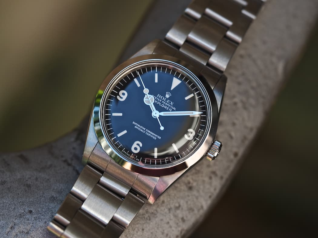 Tbt rolex explorer 1016 the last of the breed for Rolex explorer