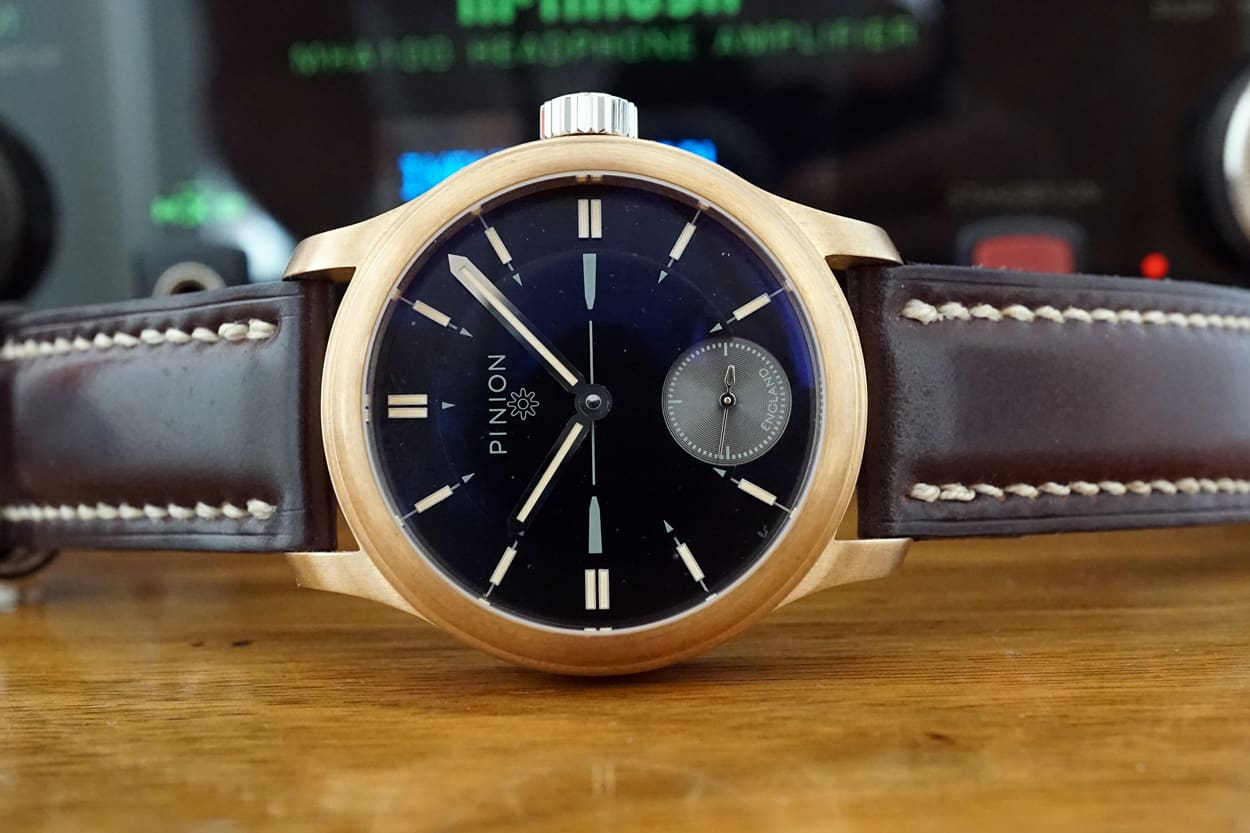 Bronze watch - Pinion Pure