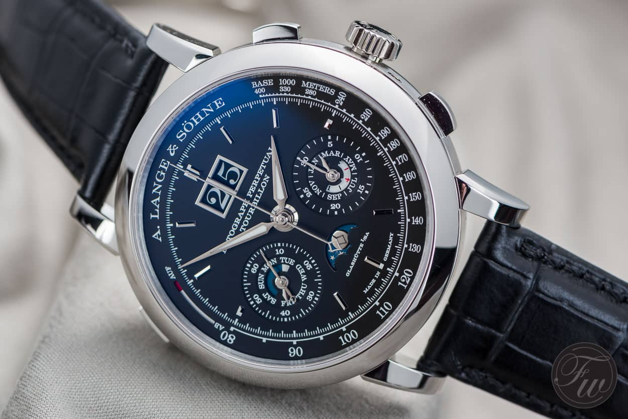Top 10 Chronographs A. Lange & Söhne Datograph