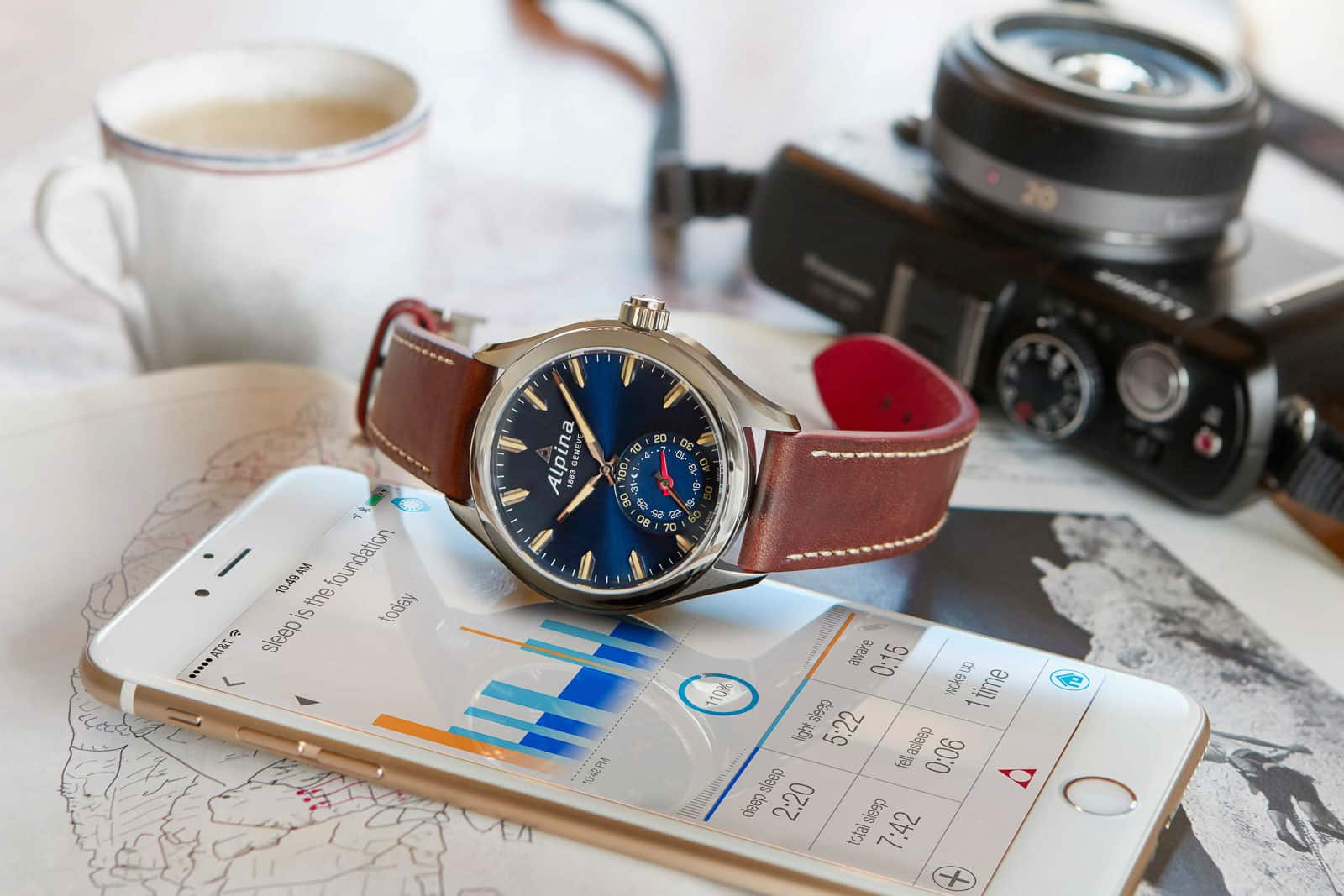 Blue Alpina Horological Smartwatch