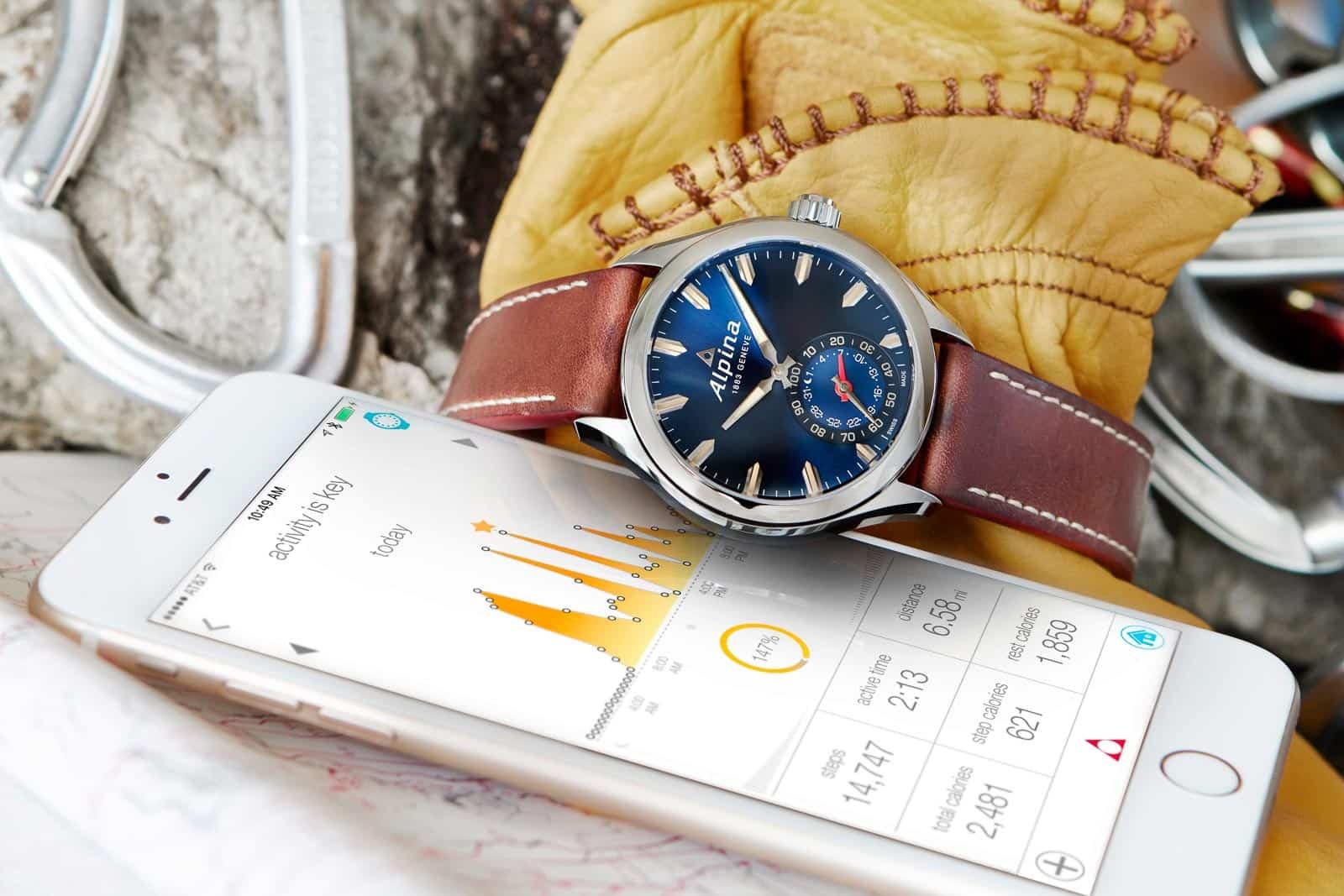 Blue Alpina Horological Smartwatch
