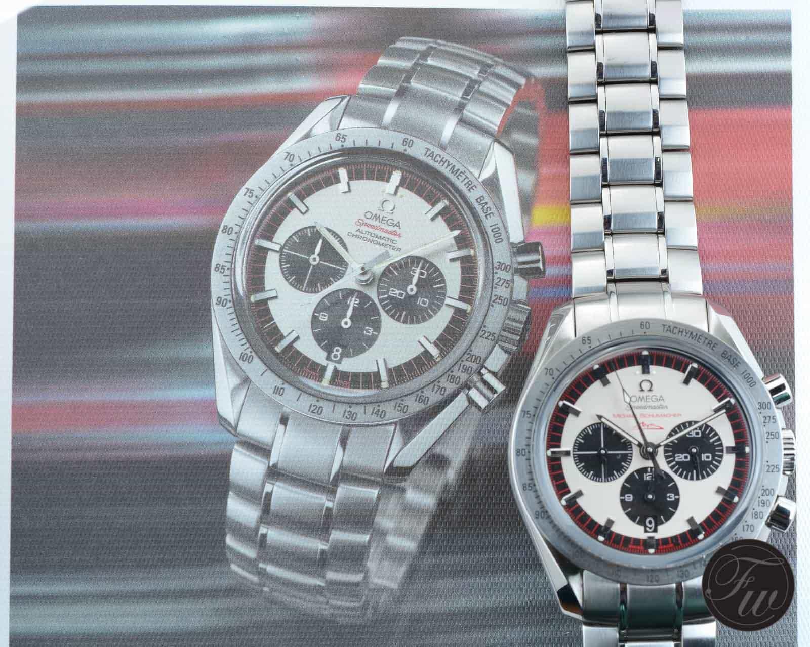 Omega Speedmaster Michael Schumacher 3553.32