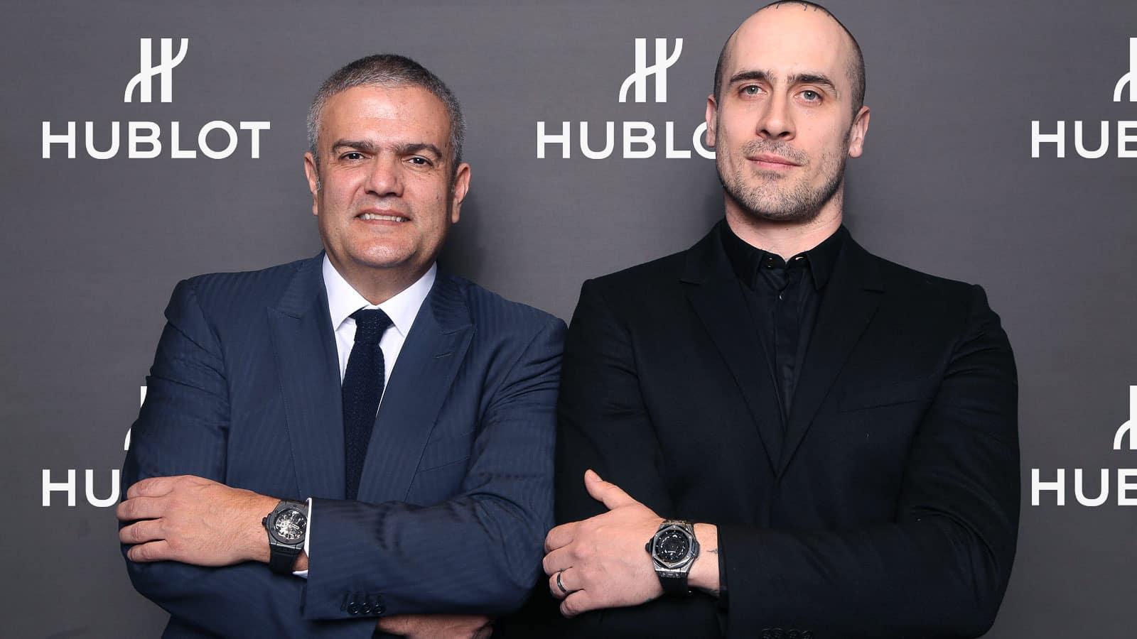 Ricardo Guadalupe & Maxime Büchi Hublot Big Bang Sang