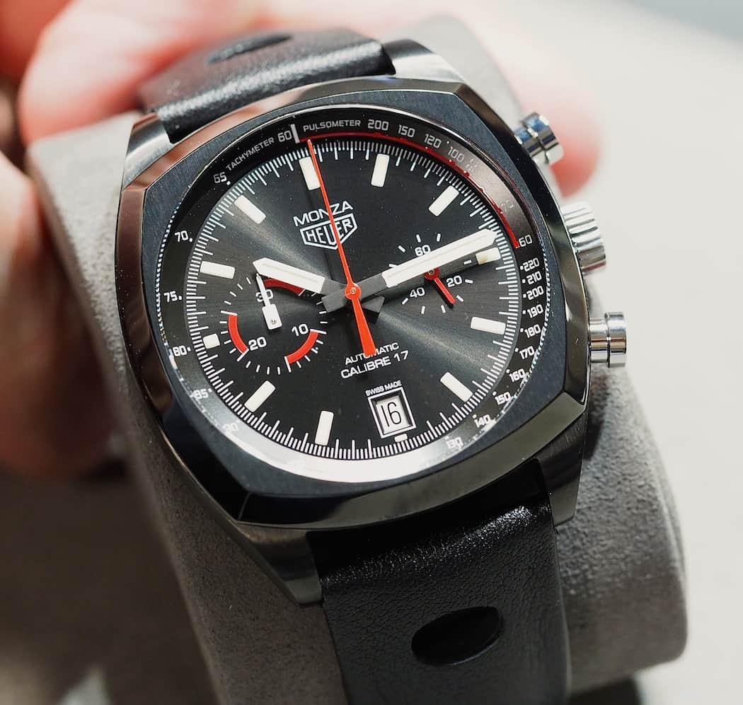 Top 10 Chronographs - TAG Heuer Monza