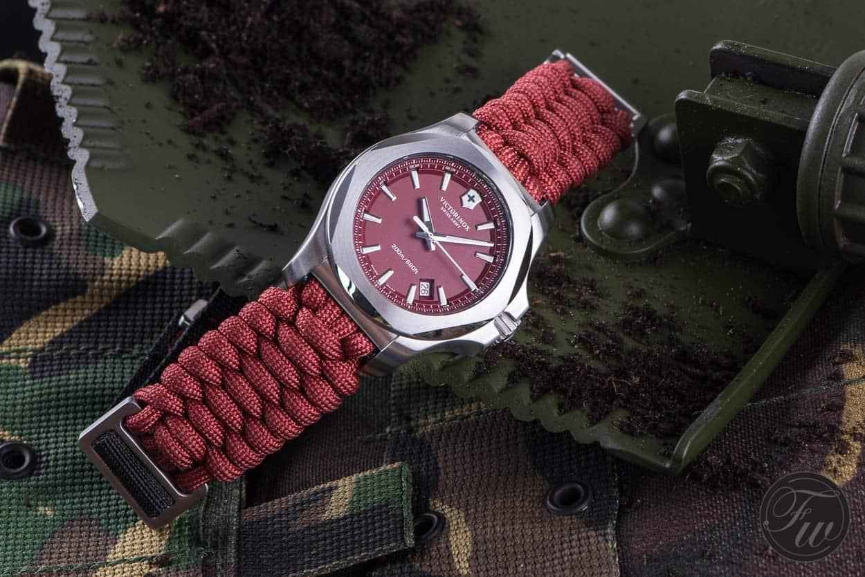 Victorinox INOX Paracord Red