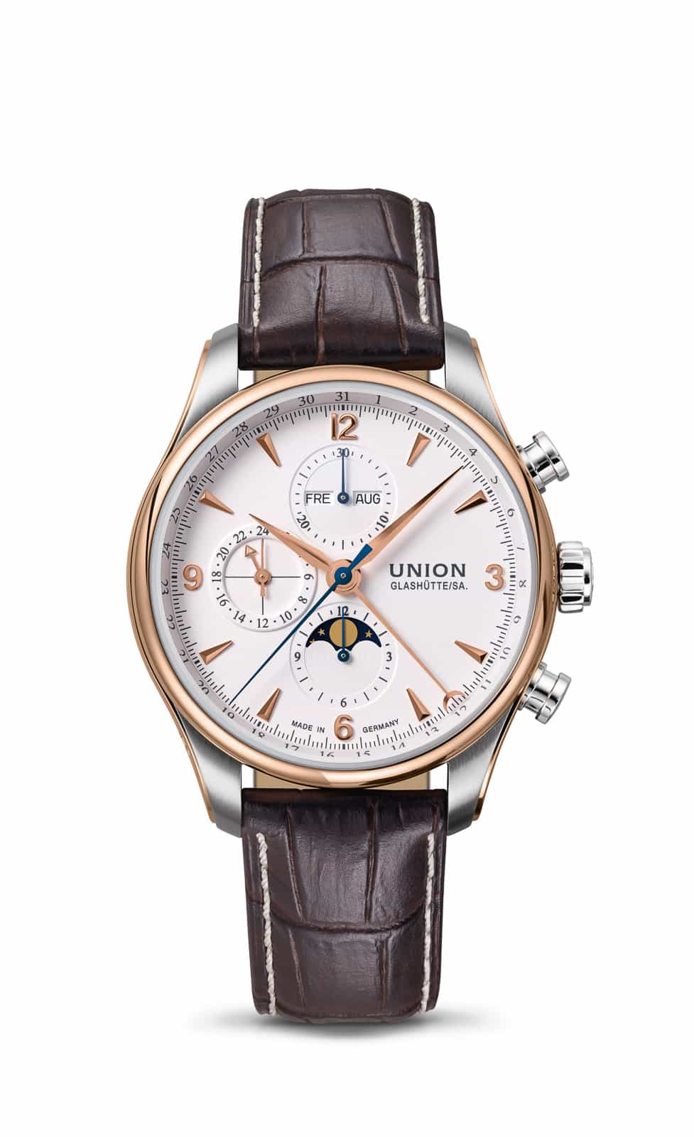 UNION GLASHÜTTE – BELISAR Chronograph Moon Phase