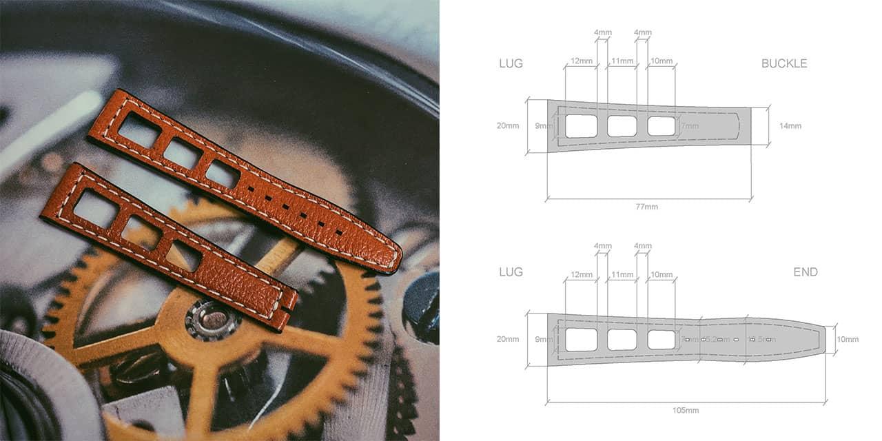 two stitch straps