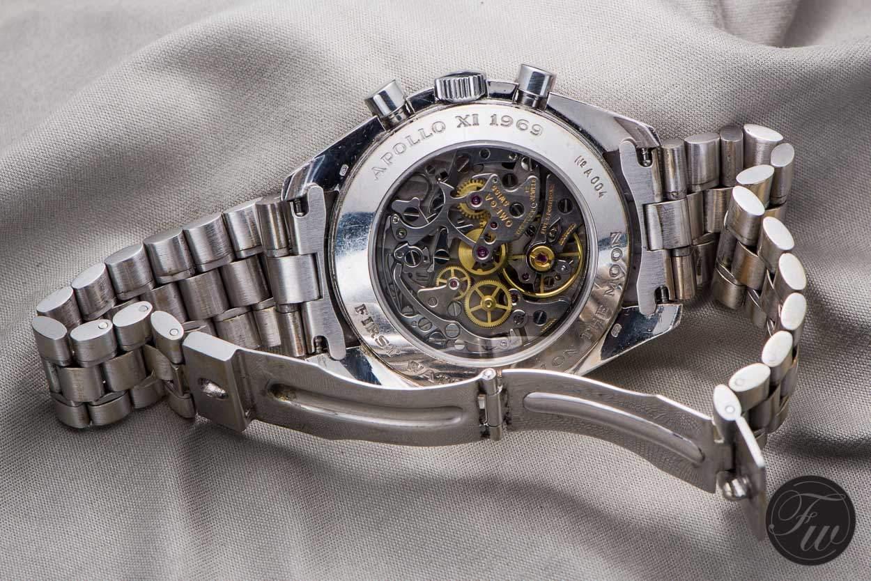 Speedmaster Apollo XI white gold
