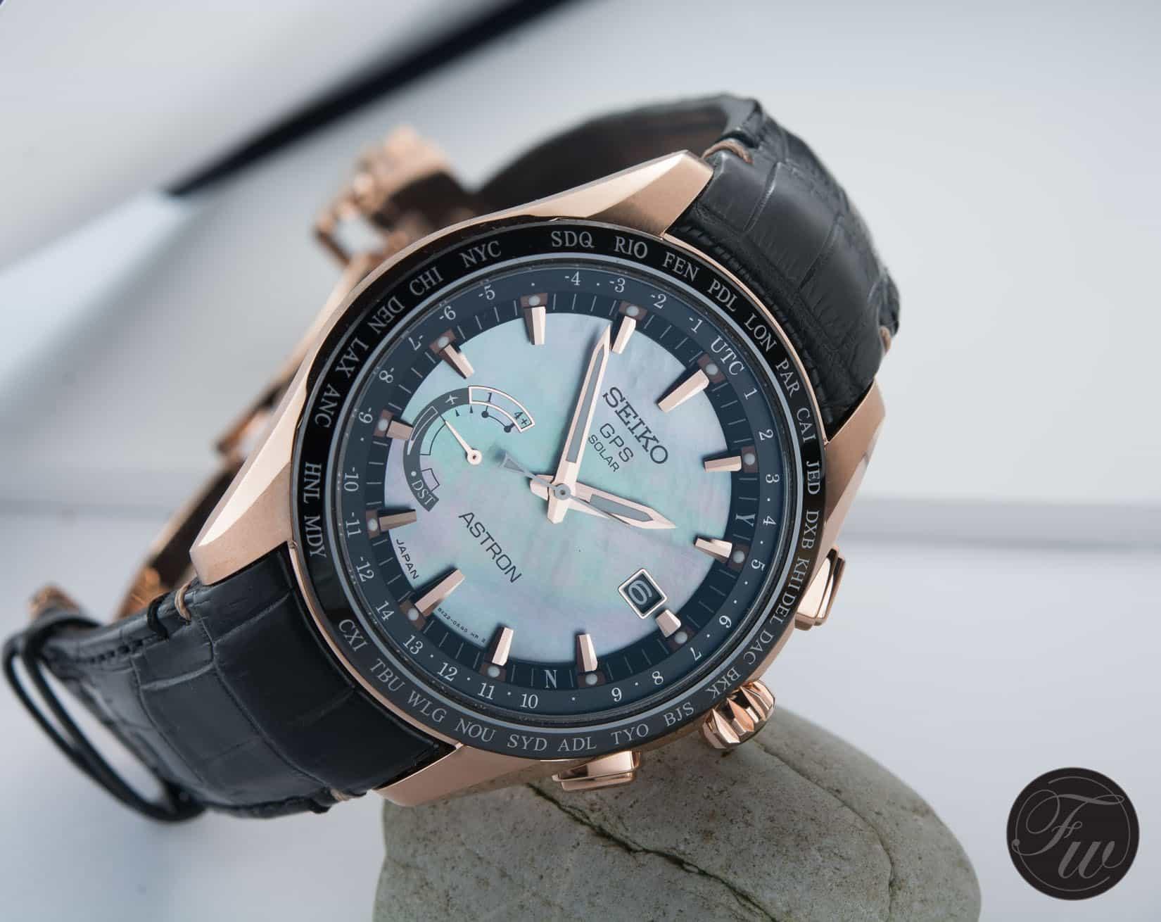 Seiko Astron GPS Solar World-Time. The Novak Djokovic Limited Edition