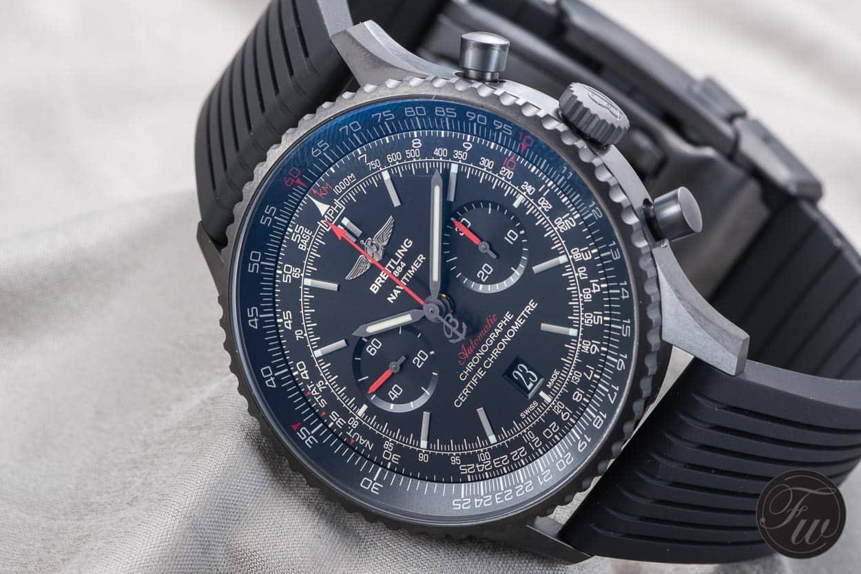 Breitling Navitimer 01 Blacksteel replica watches