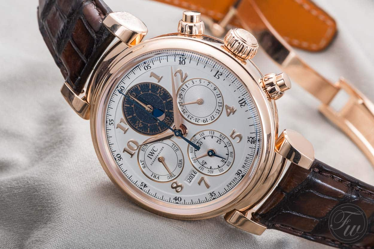 Perpetual Calendar Watch : Hands on iwc da vinci perpetual calendar chronograph