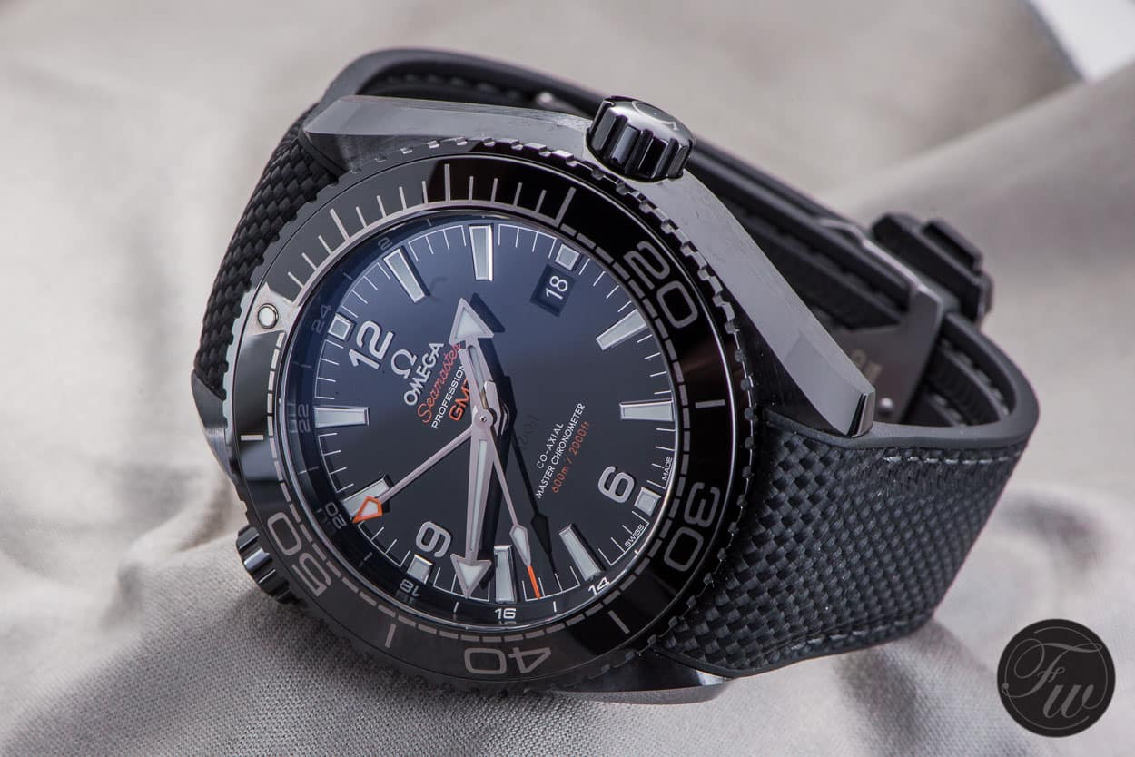 Hands On Omega Seamaster Planet Ocean Deep Black Review