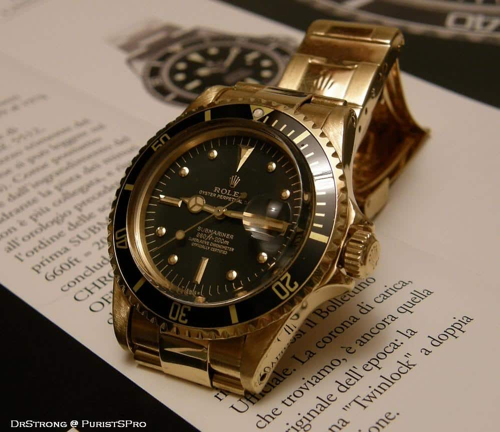 The Rolex Submariner 1680/8 (photo courtesy of member DrStrong on the forum PuristsPro)