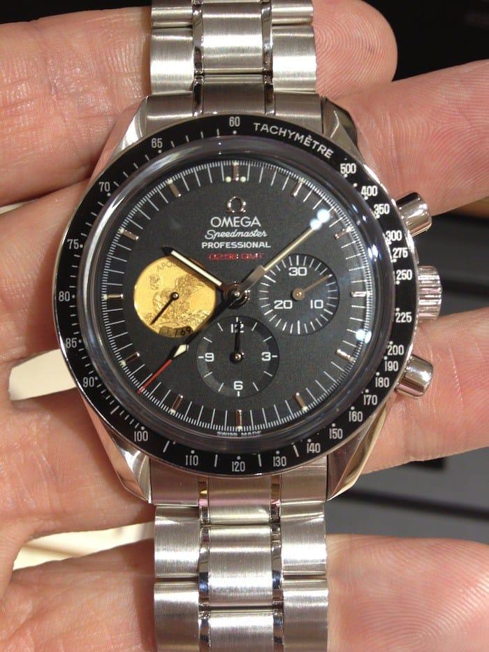 Omega Speedmaster Apollo XI 40th anniversary platinum