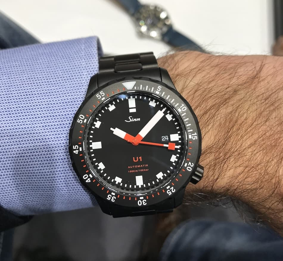Sinn at Baselworld 2017