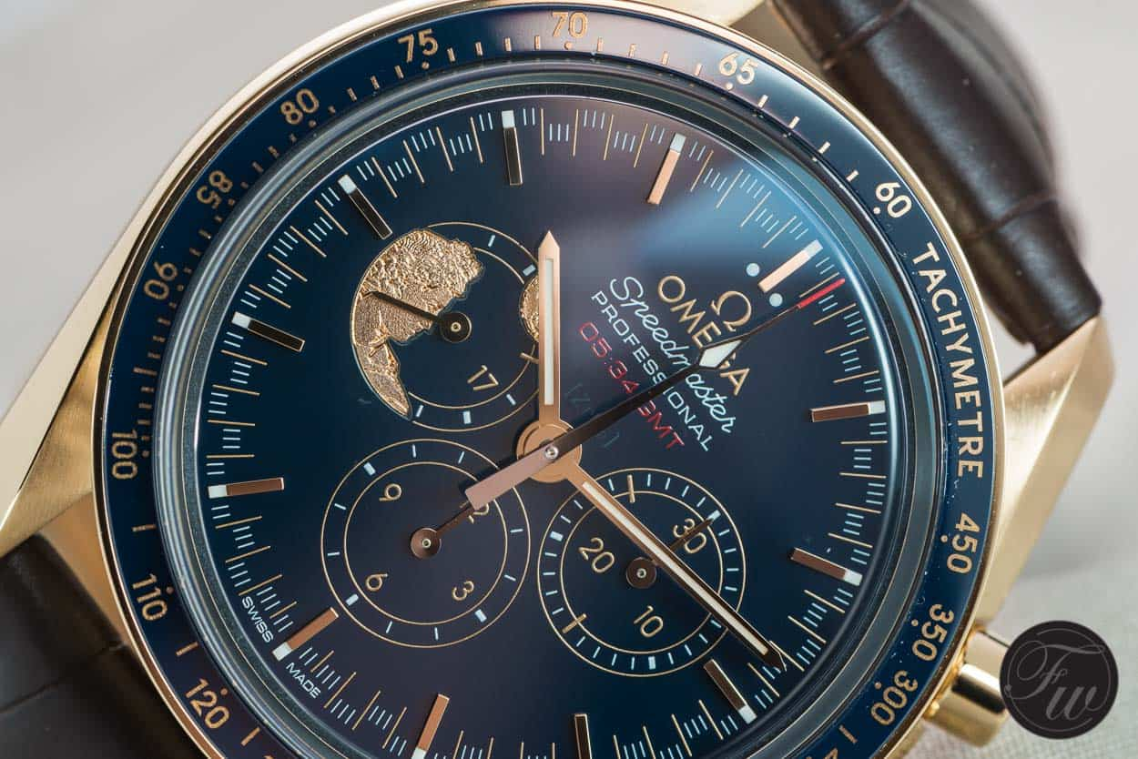 Speedy Tuesday – Omega Speedmaster Apollo XVII 45th Anniversary in Gold