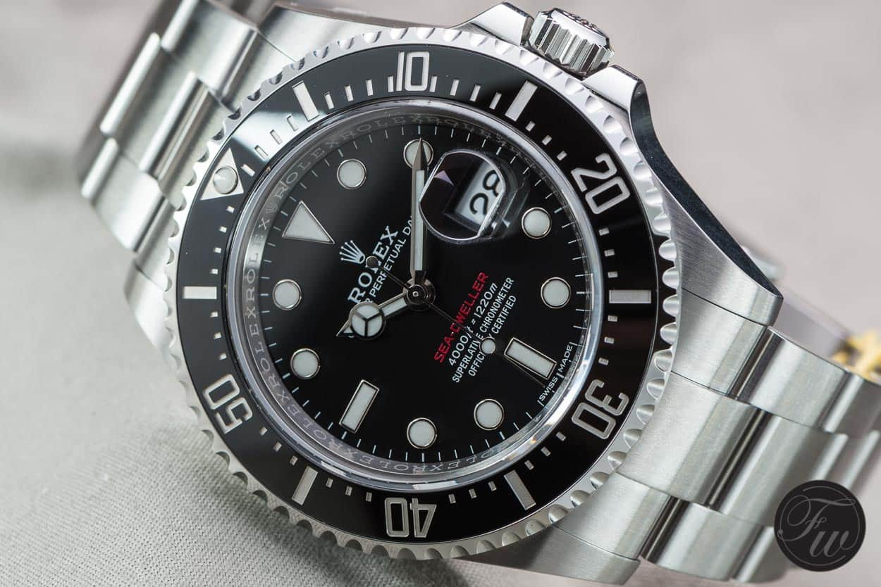 Hands On With The New Rolex Sea Dweller Reference 126600 Red Writing