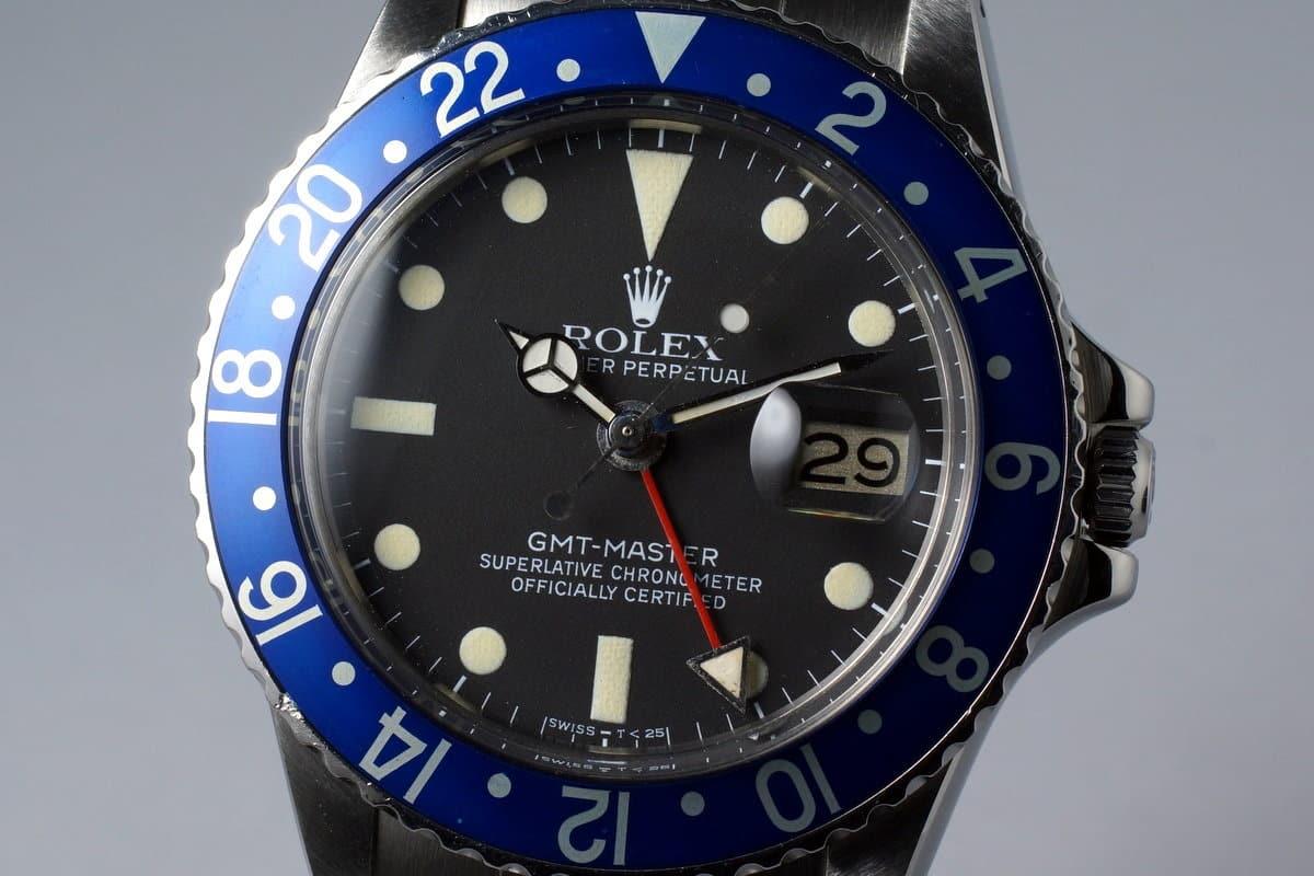 Rolex GMT-Master Blueberry