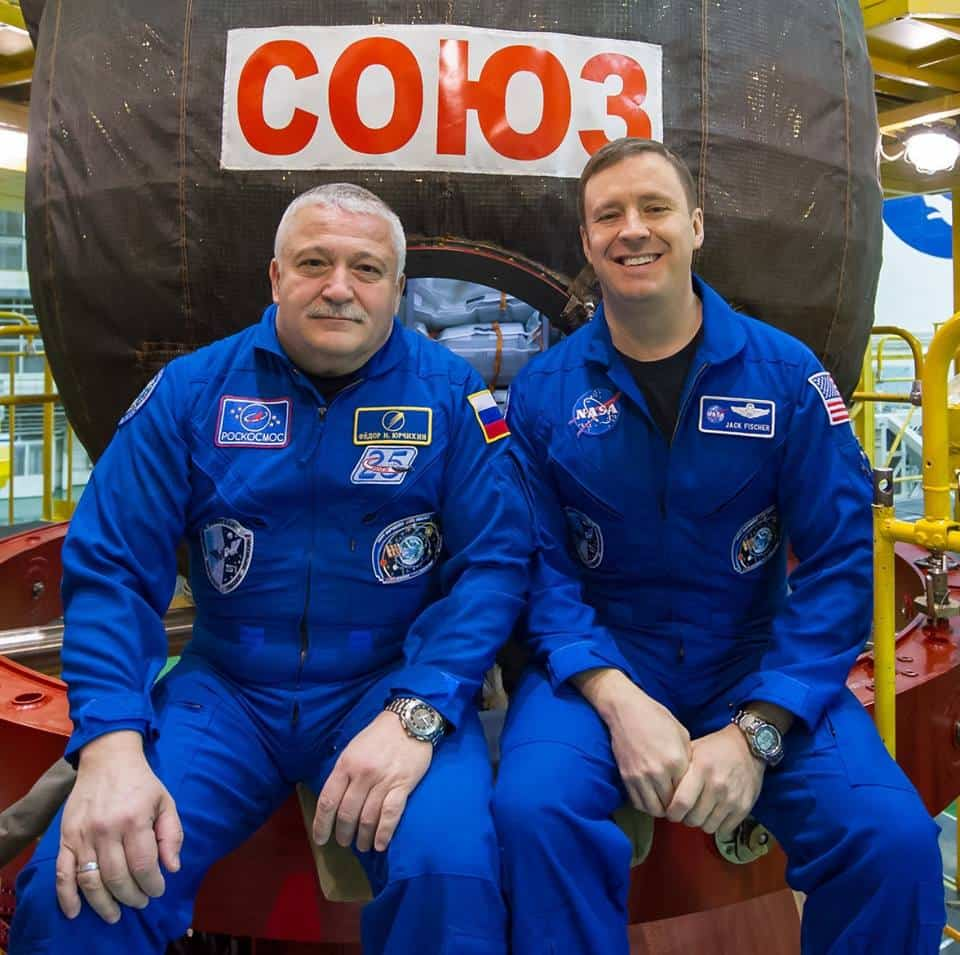 ISS expedition 51 crew
