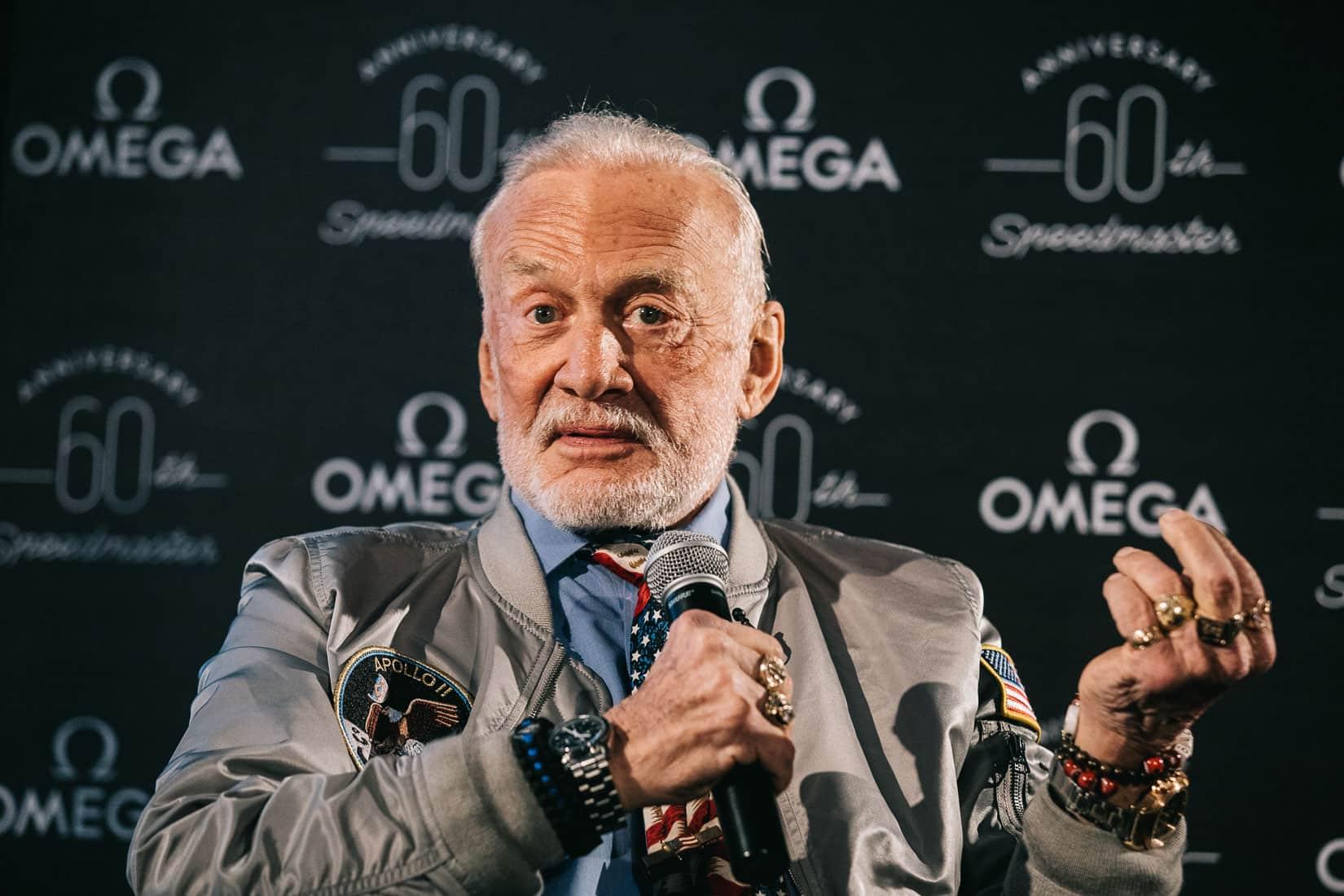 Weekend Read Speedmaster Event In London With Buzz Aldrin