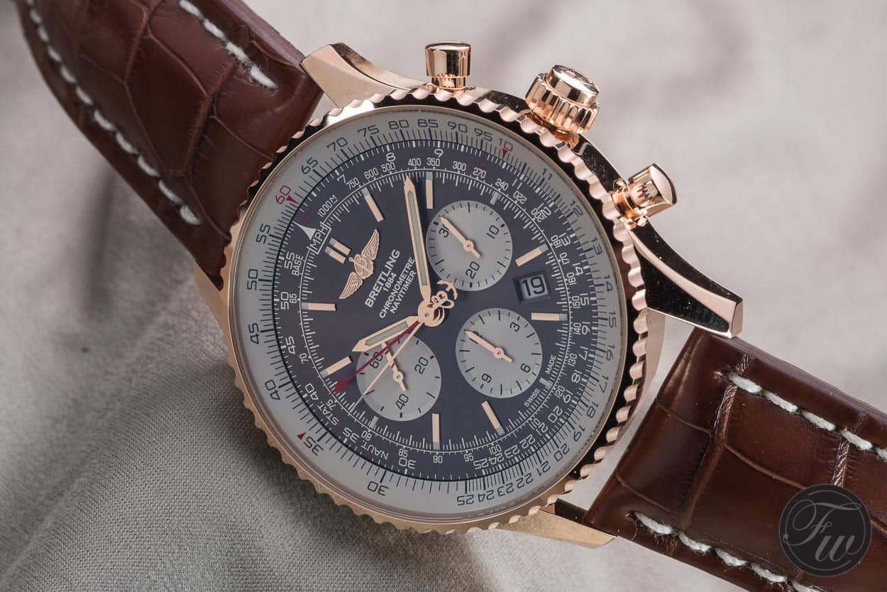 Breitling Rattrapante Watches Navitimer New Hands-on With The