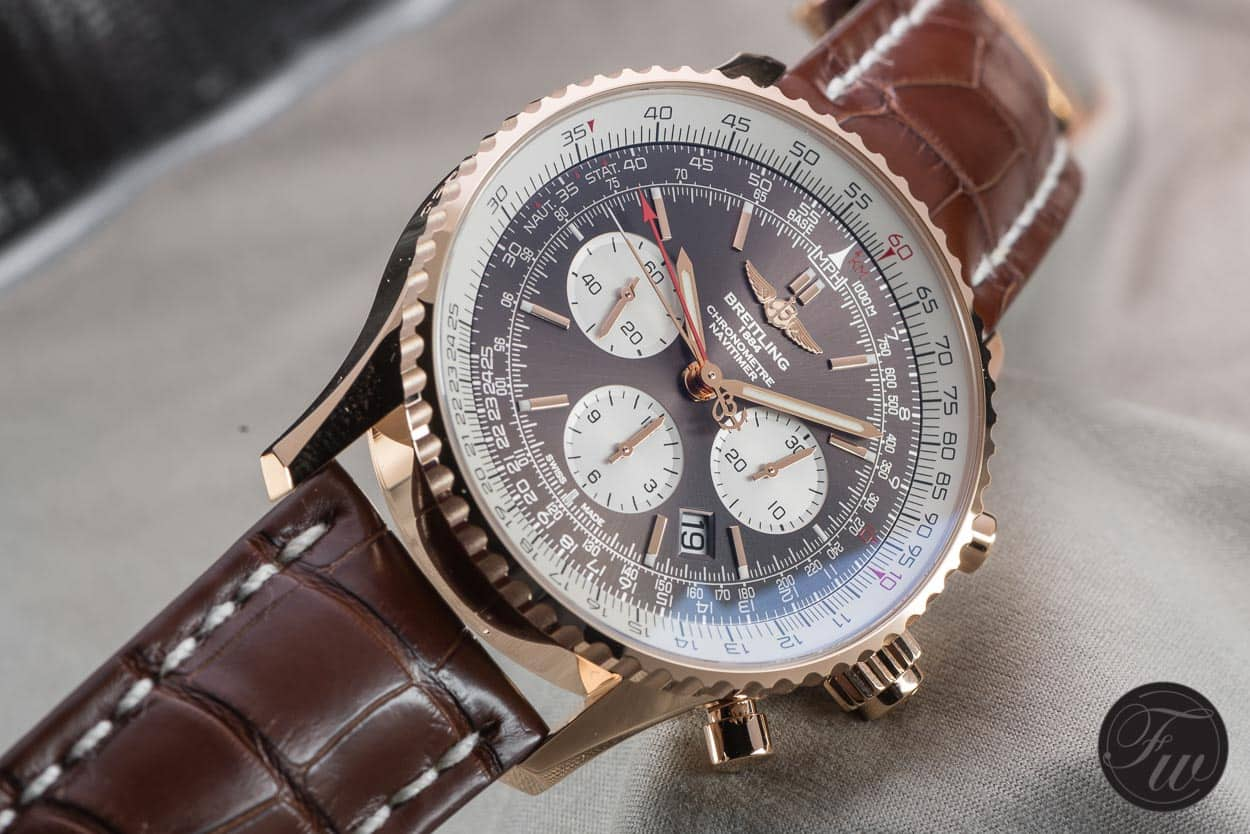 Hands on with the new breitling navitimer rattrapante watches for Watches breitling
