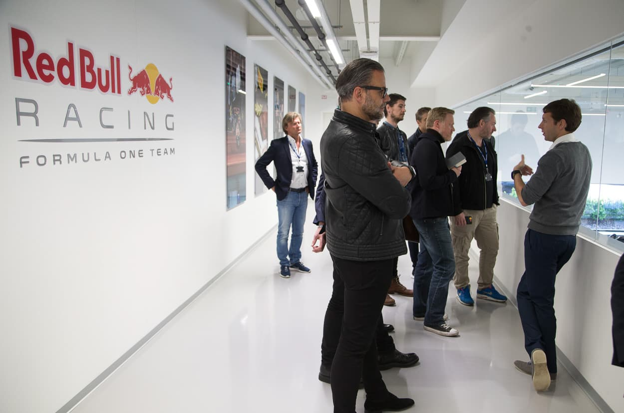 Red Bull Racing HQ with TAG Heuer