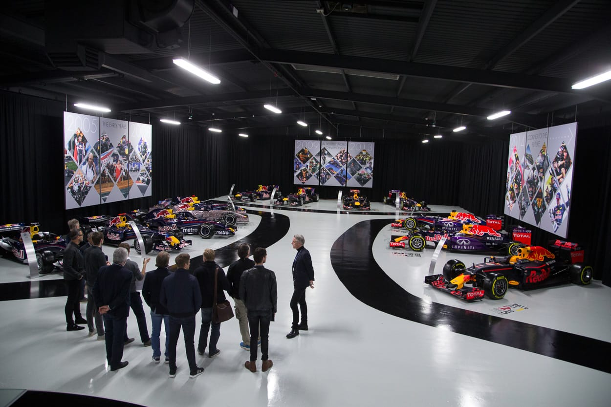 Red Bull Racing HQ Hall of Fame